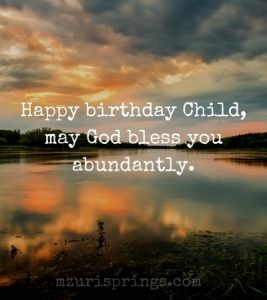 Religious birthday wishes for 2 year old boy