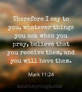 Scripture to Use in Prayer